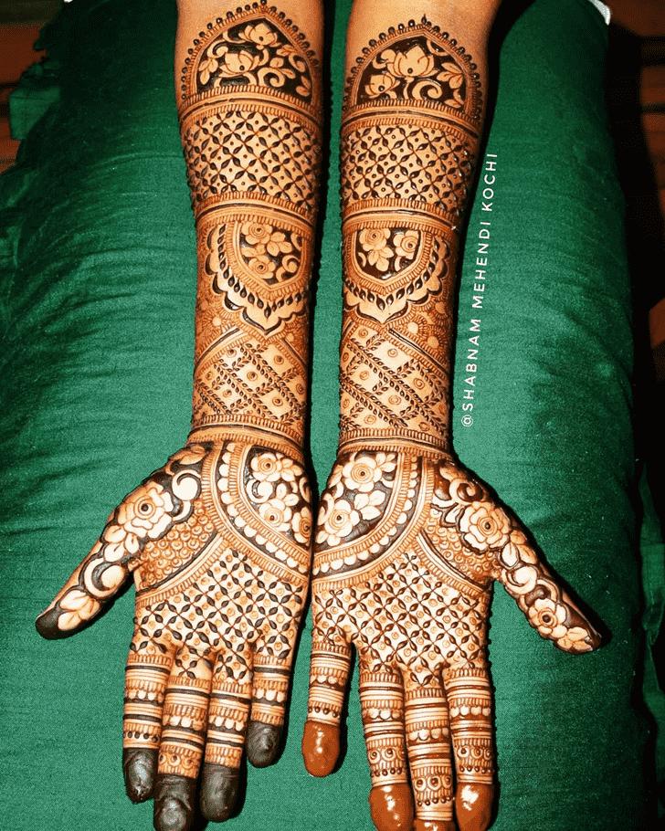 Stunning Holi Henna Design