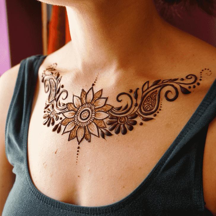 Angelic Hot Henna Design