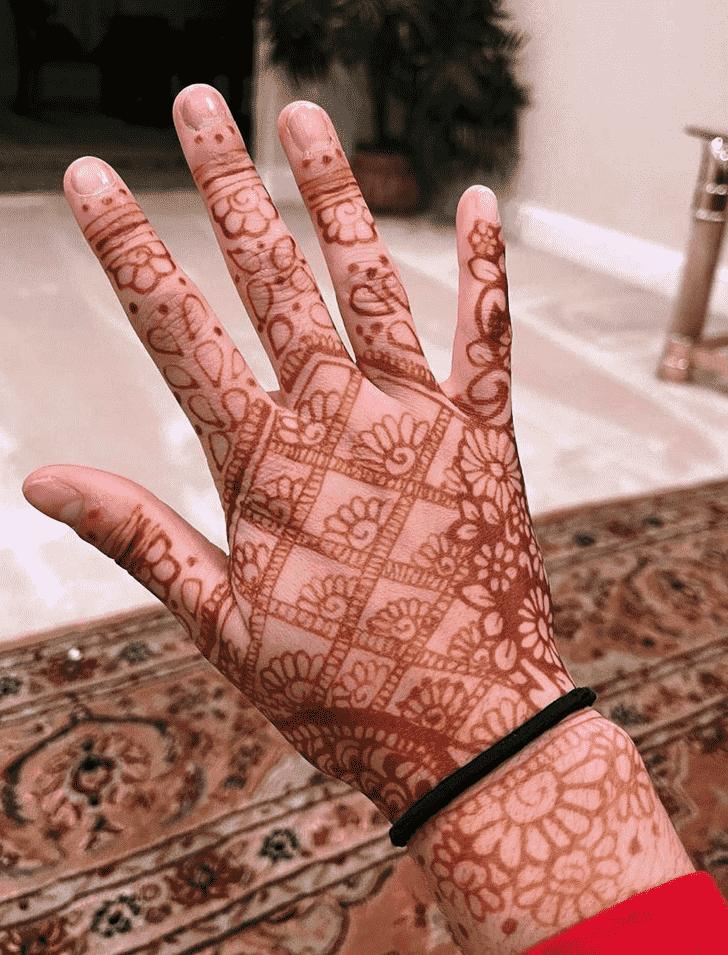 Bewitching Hyderabad Henna Design