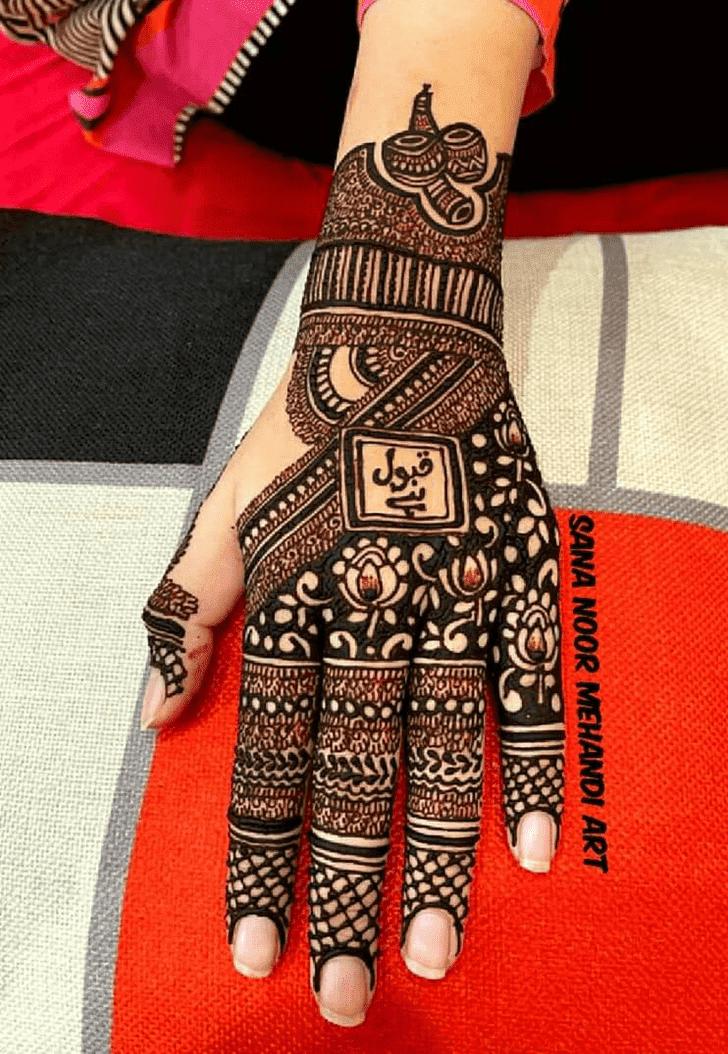 Alluring Independence Day Henna Design