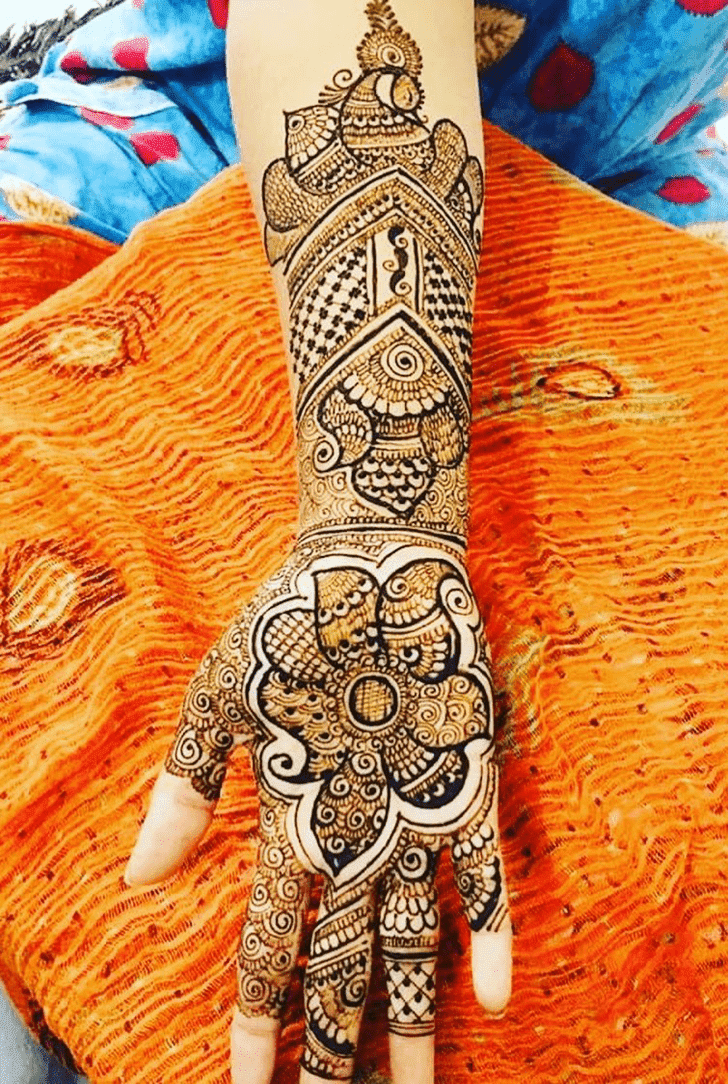 Appealing Independence Day Henna Design