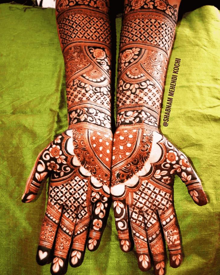 Angelic Indian Henna design