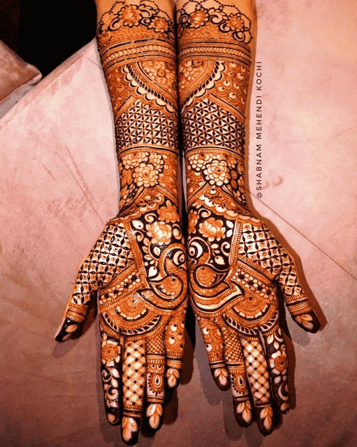 Captivating Indian Henna design