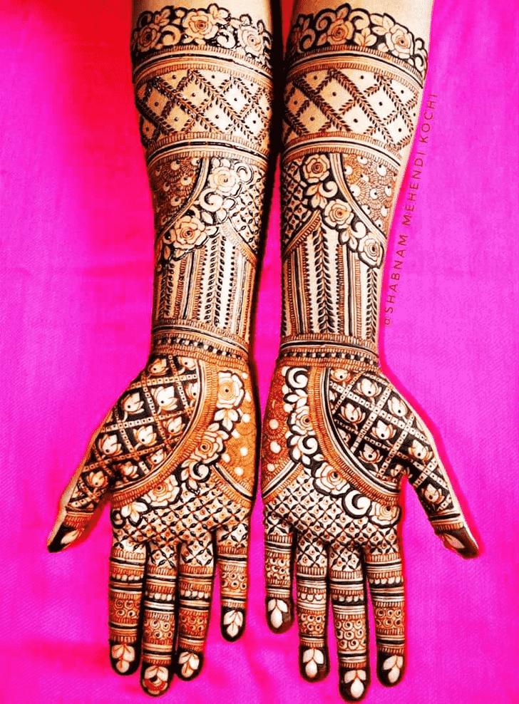 Elegant Indian Henna design