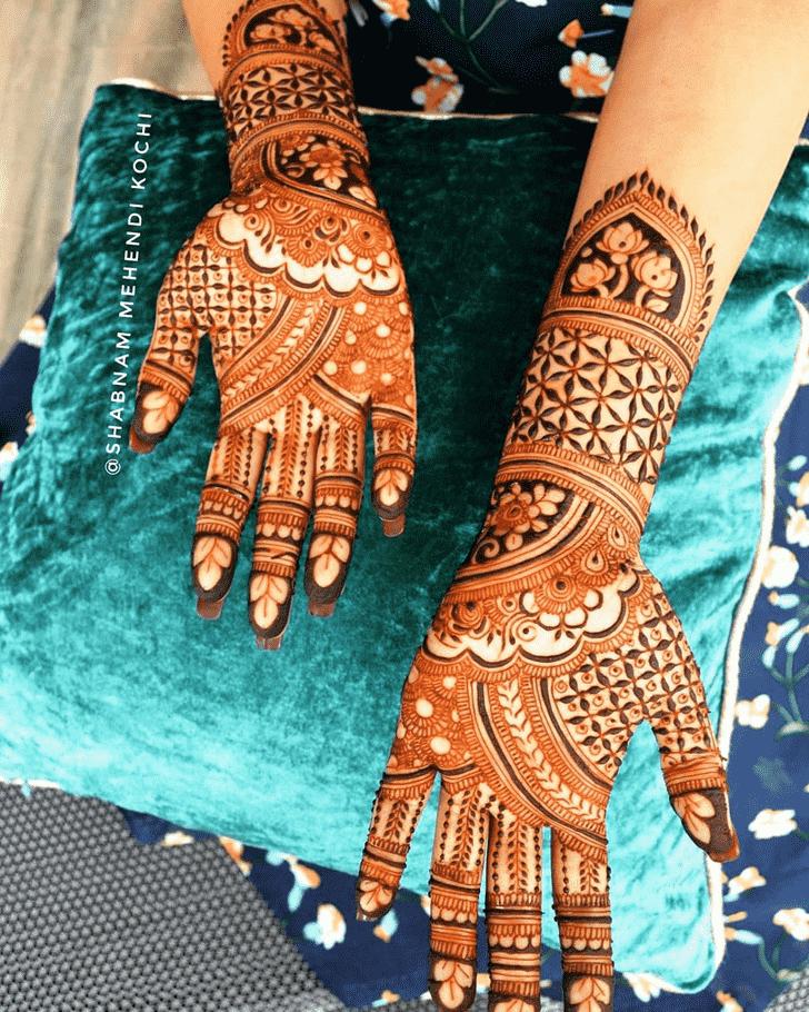 Enthralling Indian Henna design