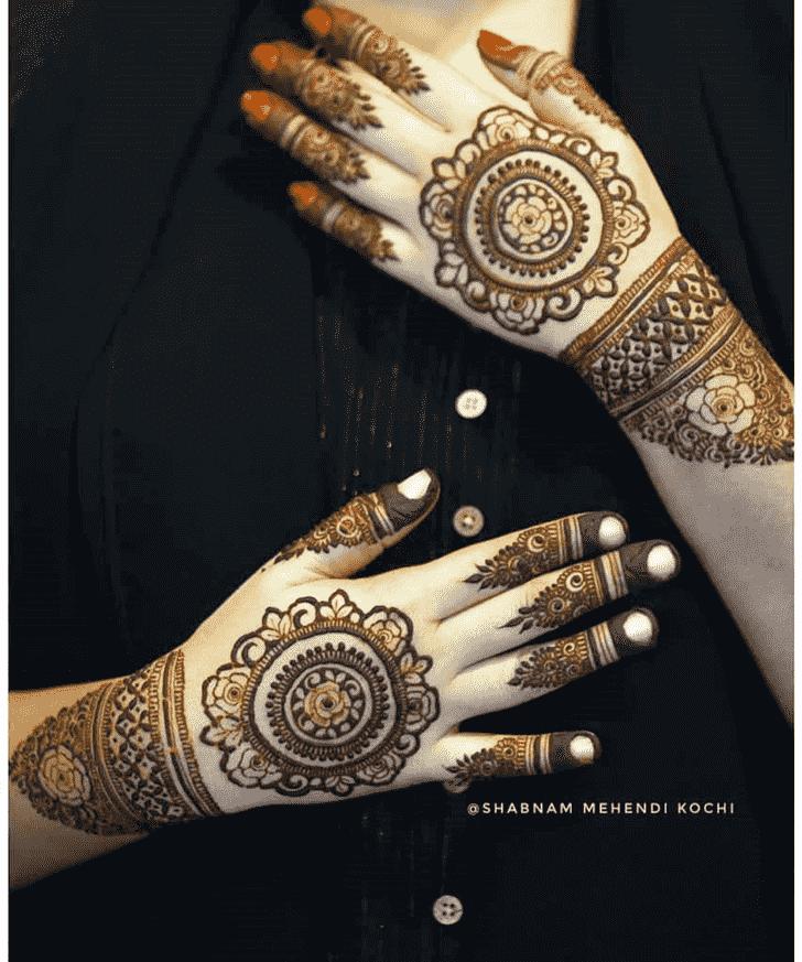 Exquisite Indian Henna design