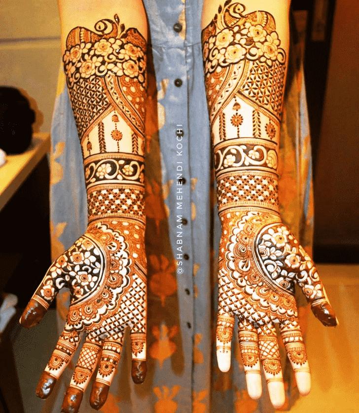 Fascinating Indian Henna design
