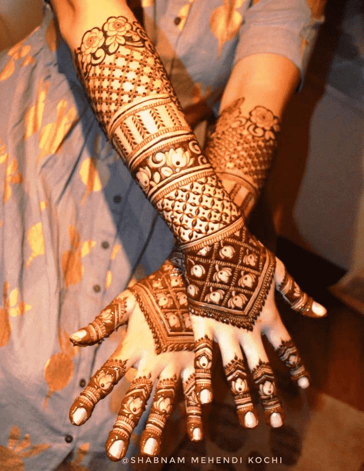 Fetching Indian Henna design
