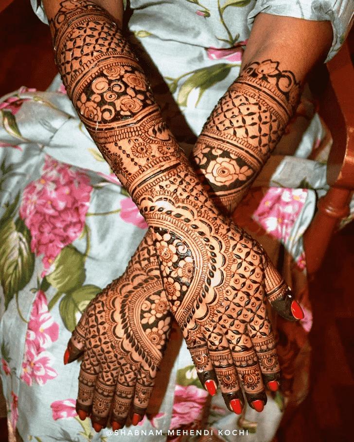 Grand Indian Henna design
