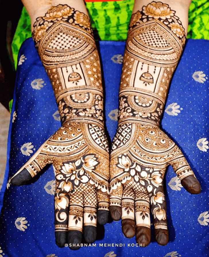 Ravishing Indian Henna design
