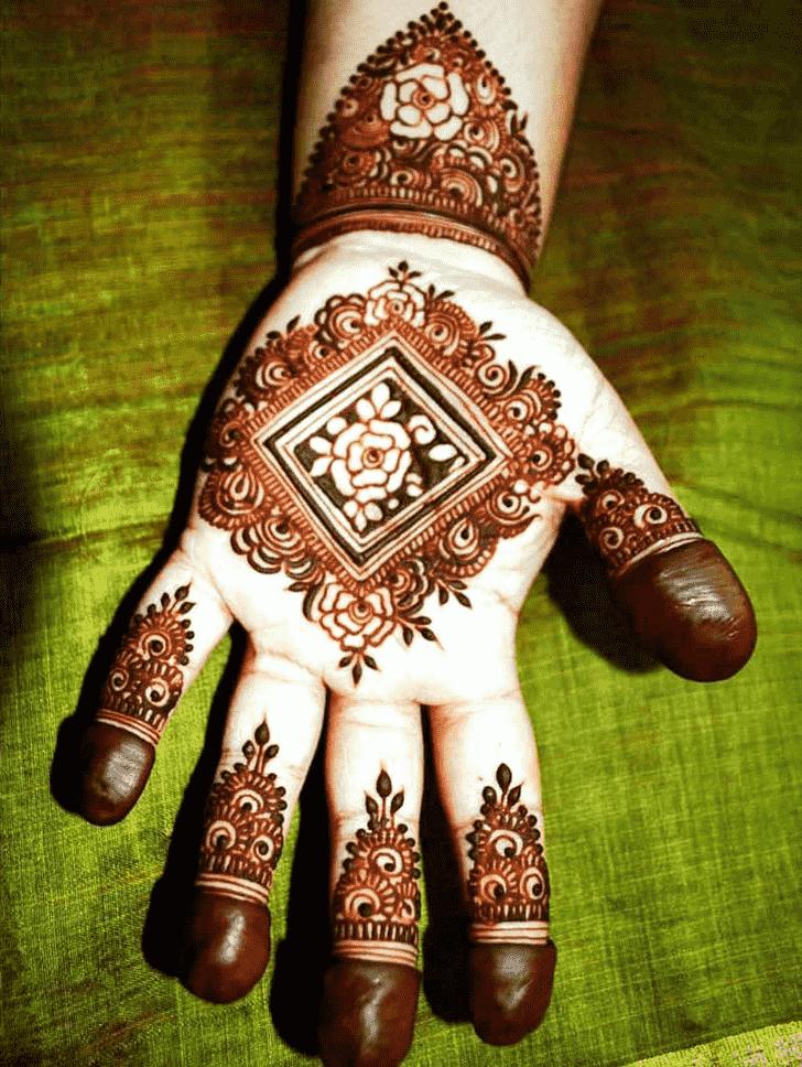 Resplendent Indian Henna design