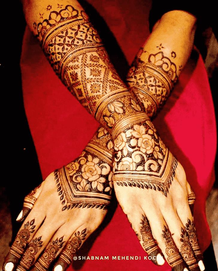 Splendid Indian Henna design