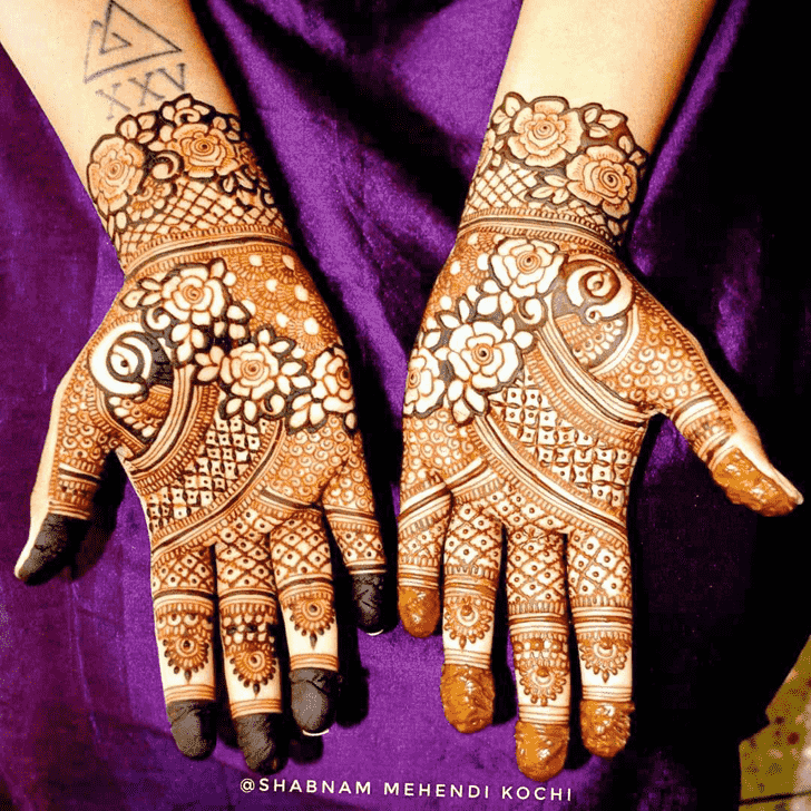 Stunning Indian Henna design