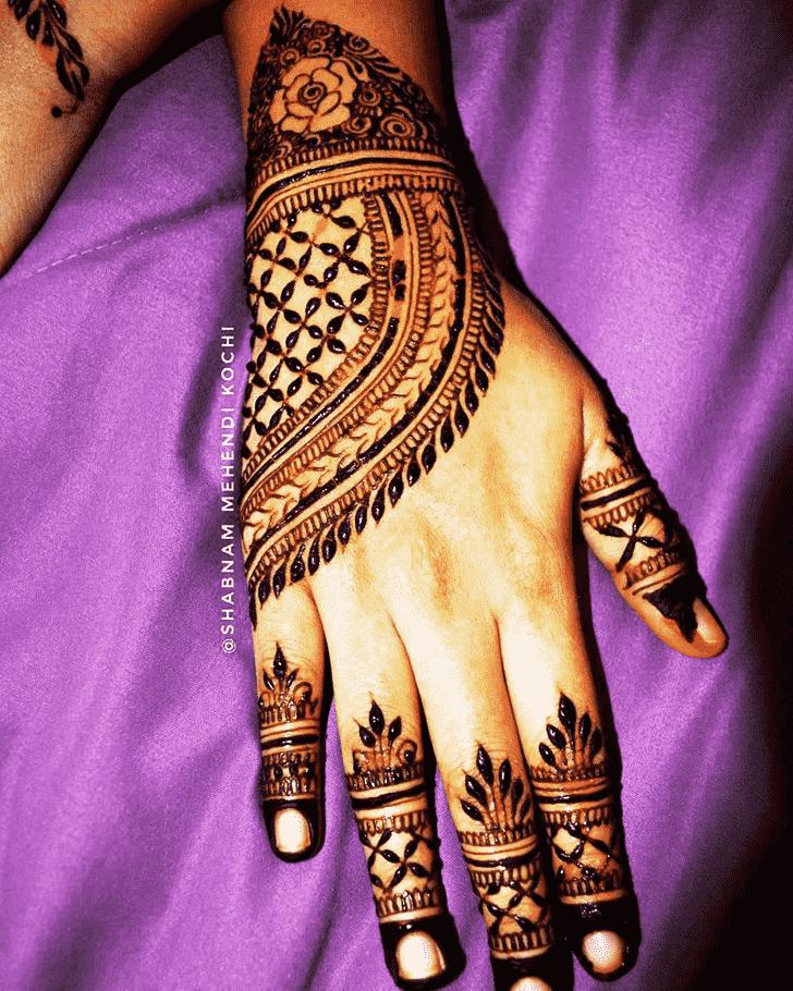 Superb Indian Henna design