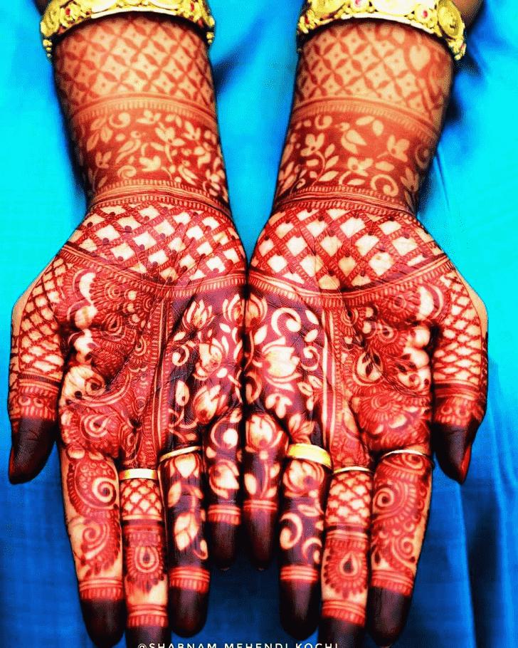 Wonderful Indian Mehndi design
