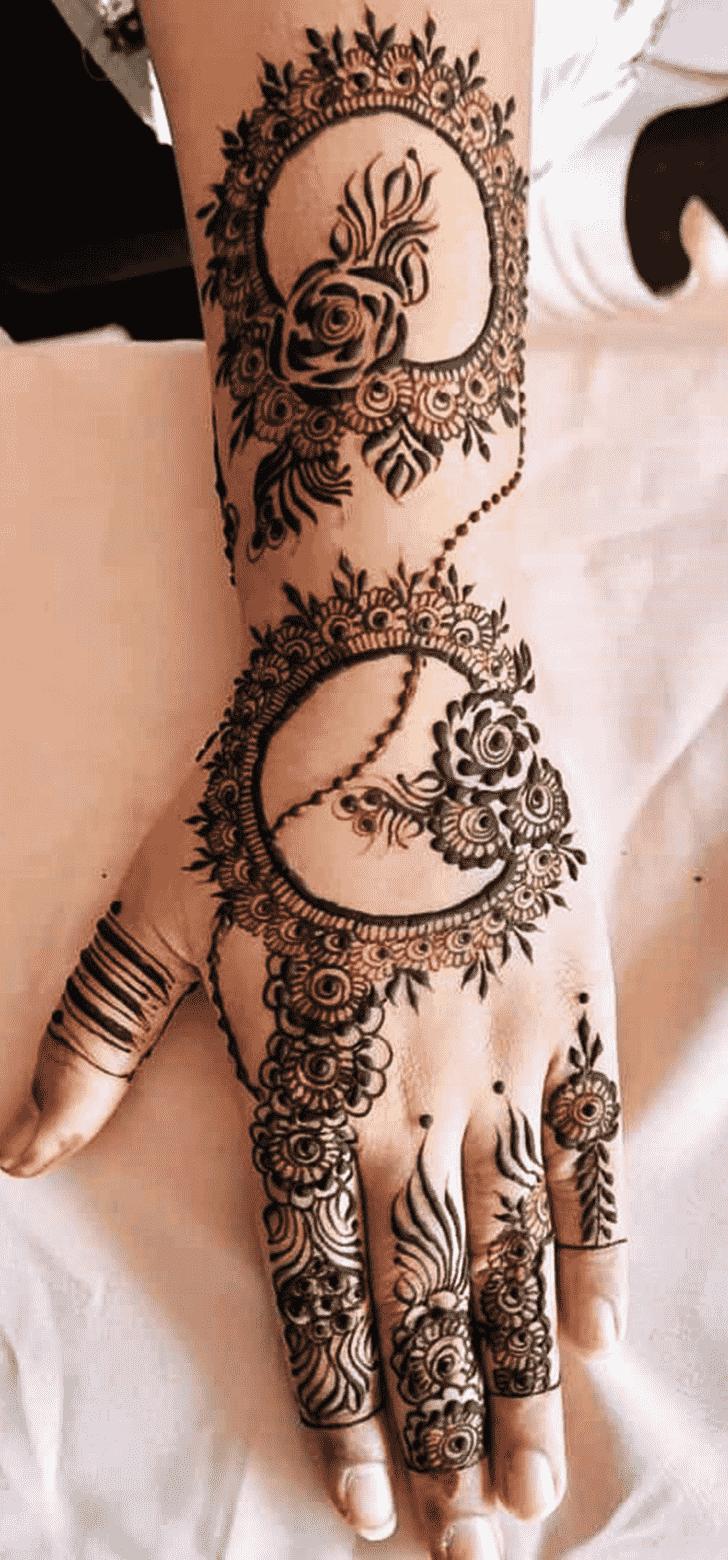 Angelic Indo Arabic Henna Design