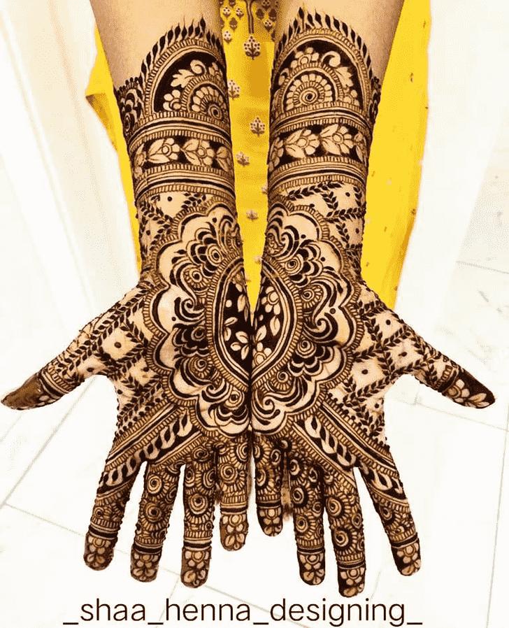 Beauteous Indo Arabic Henna Design