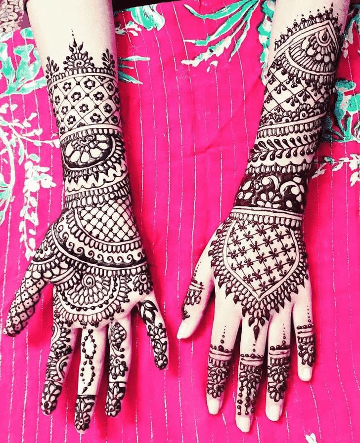 Alluring Ireland Henna Design