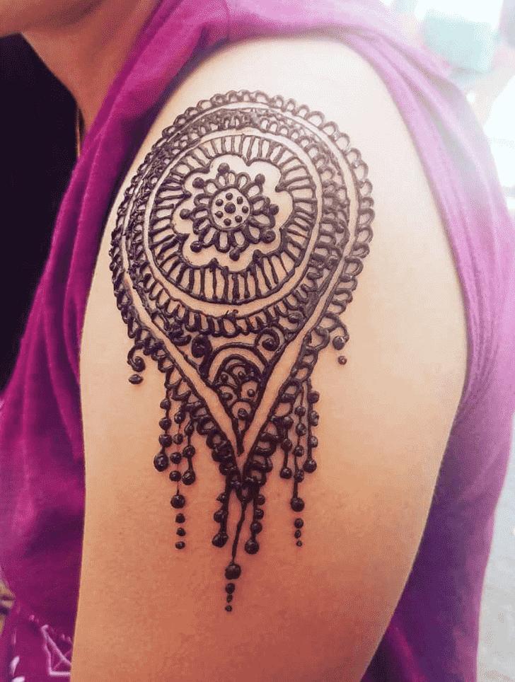 Angelic Ireland Henna Design