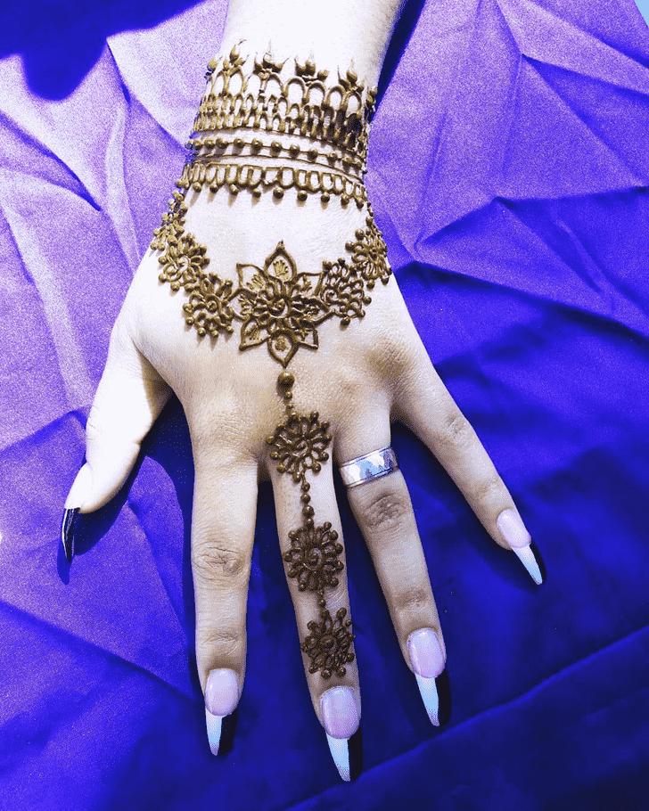 Beauteous Ireland Henna Design