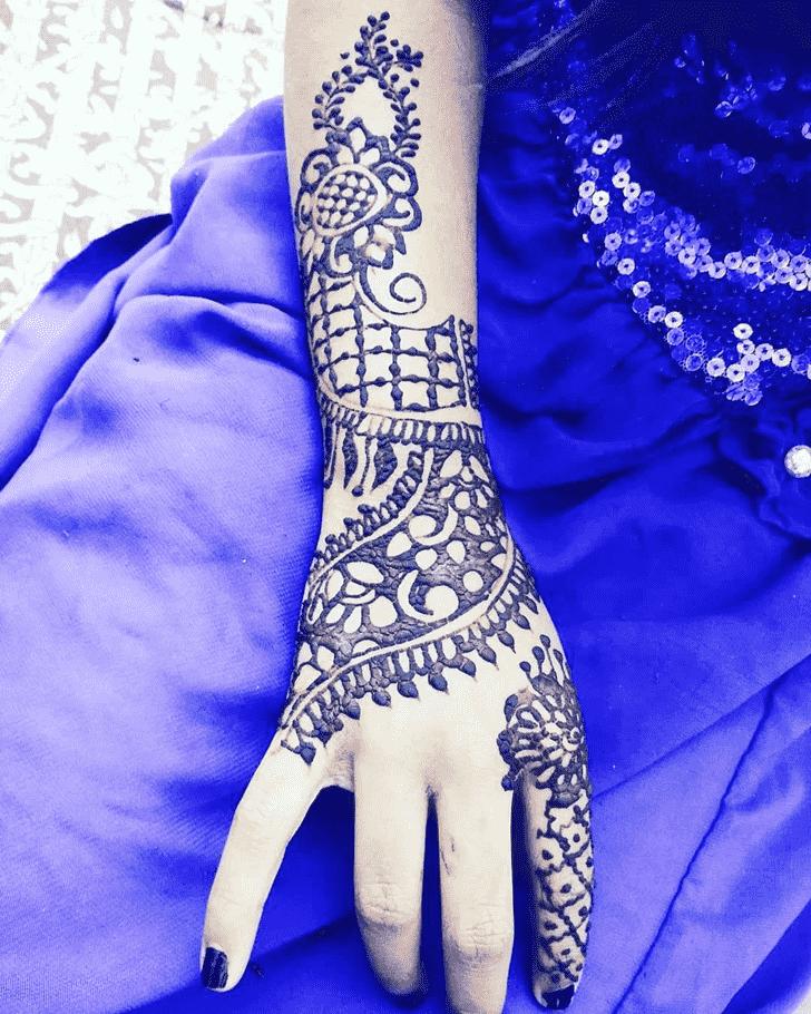 Bewitching Ireland Henna Design