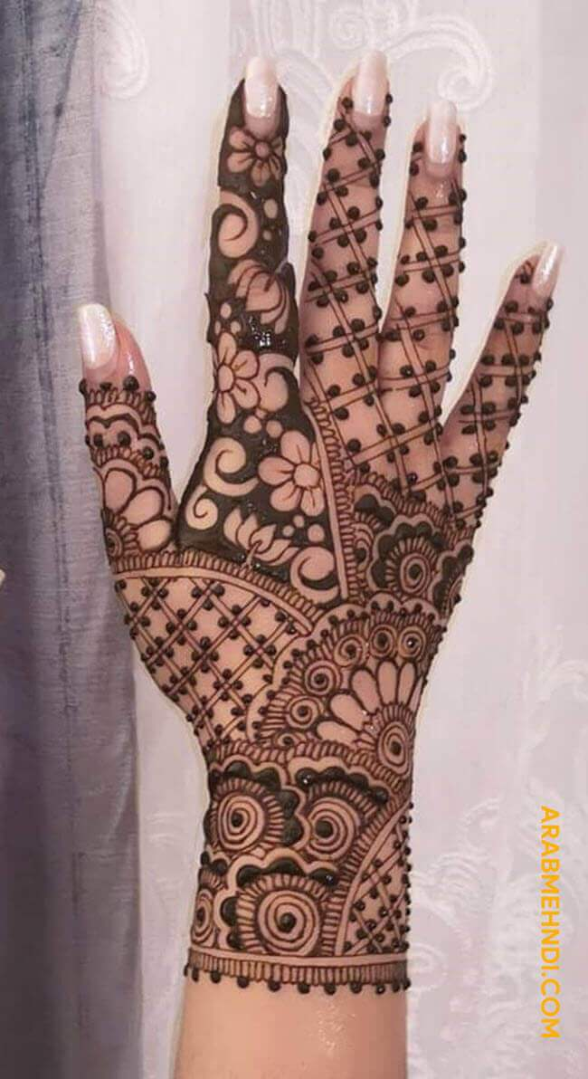 Wonderful Ireland Mehndi Design