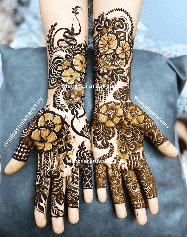 Beauteous Islamabad Henna Design