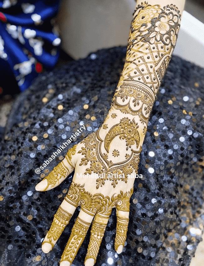 Bewitching Islamabad Henna Design