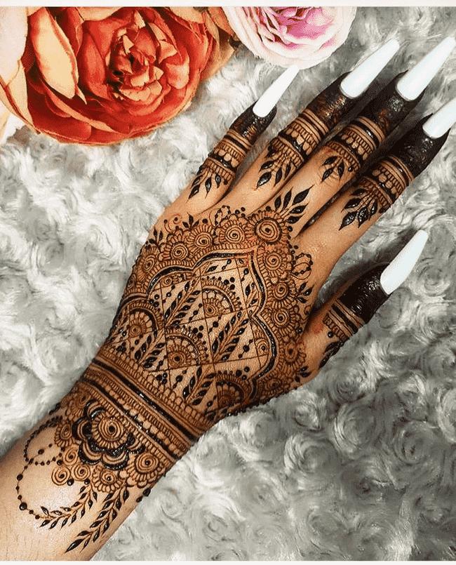 Captivating Islamabad Henna Design
