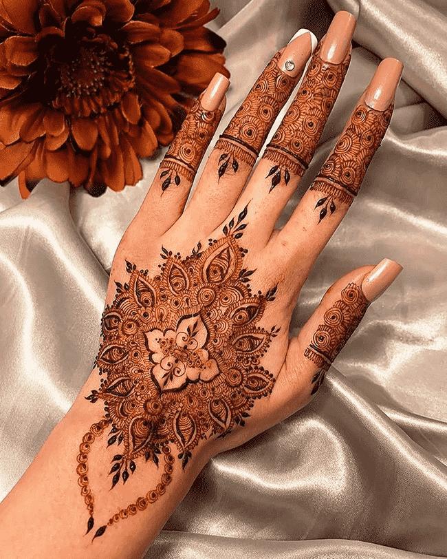 Charming Islamabad Henna Design