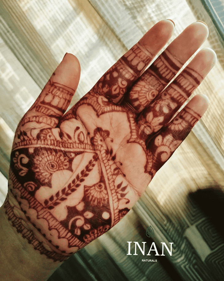 Appealing Israel Henna Design