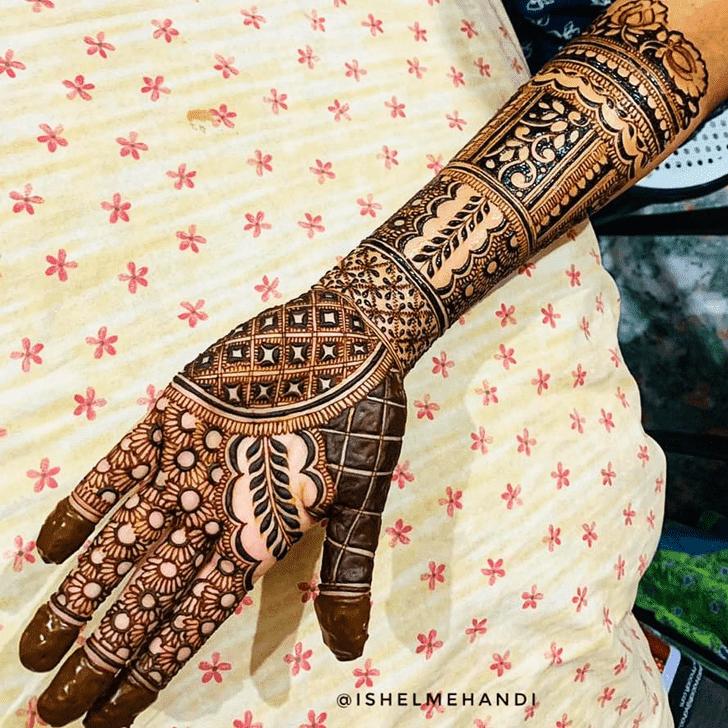 Beauteous Israel Henna Design