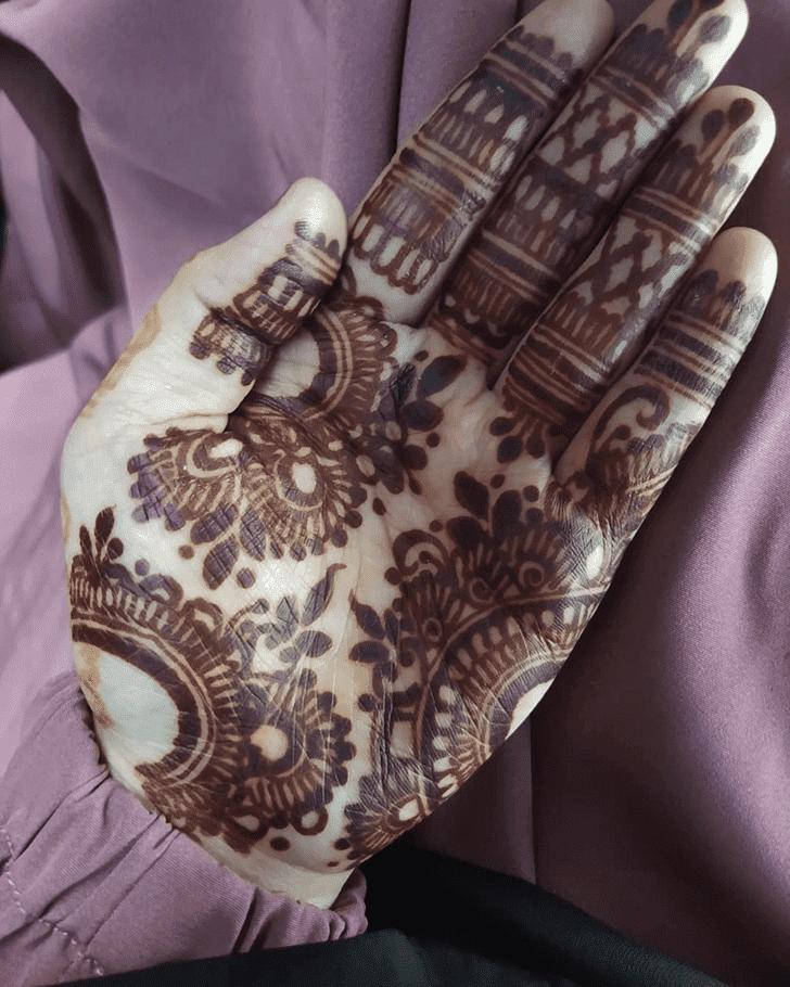 Bewitching Israel Henna Design