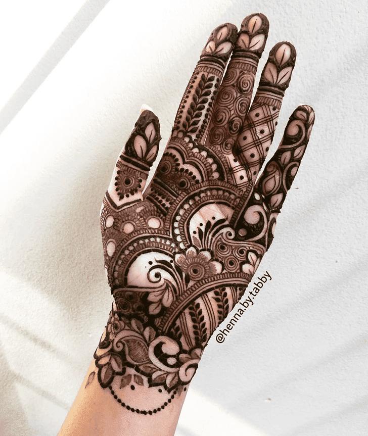 Captivating Israel Henna Design