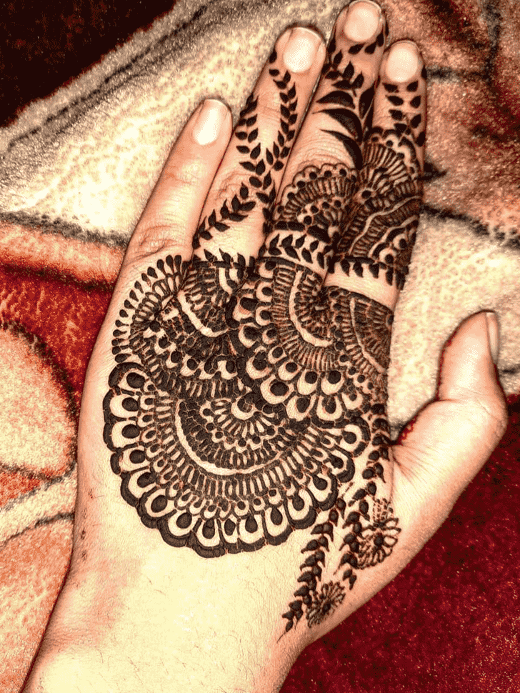 Adorable Jaipur Henna Design