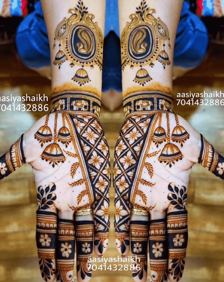 Angelic Jaipur Henna Design