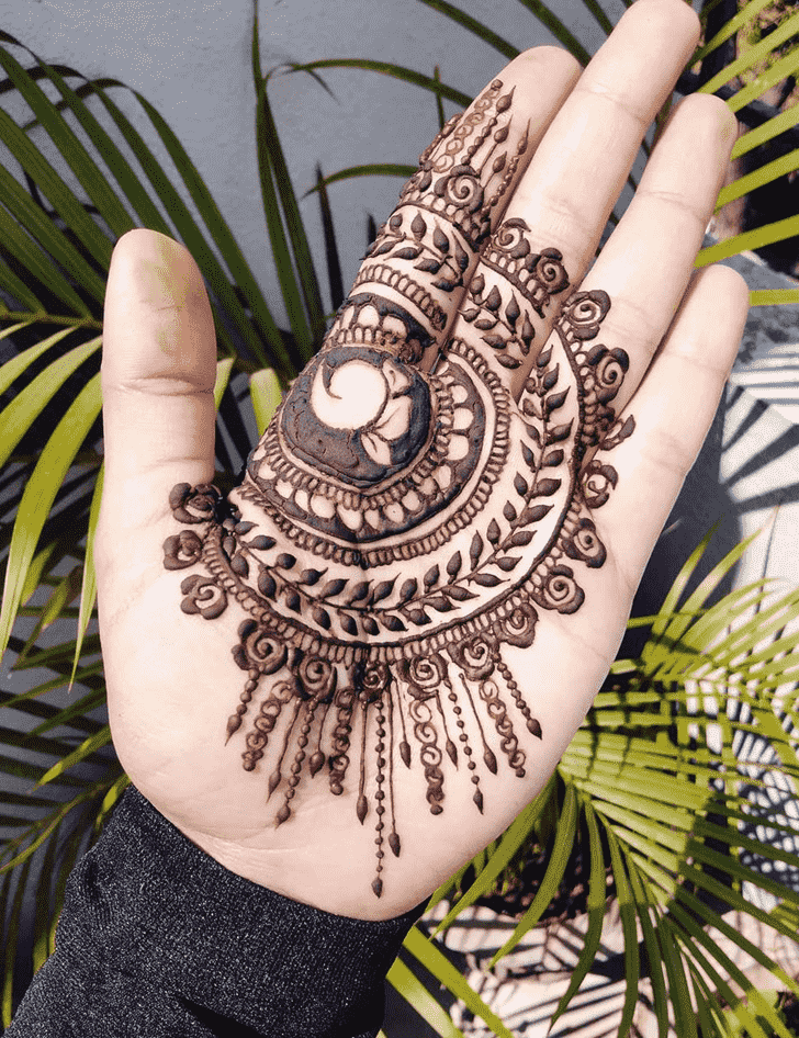 Appealing Jaipur Henna Design