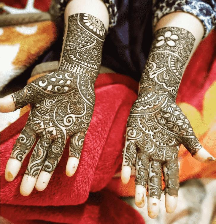 Bewitching Jaipur Henna Design