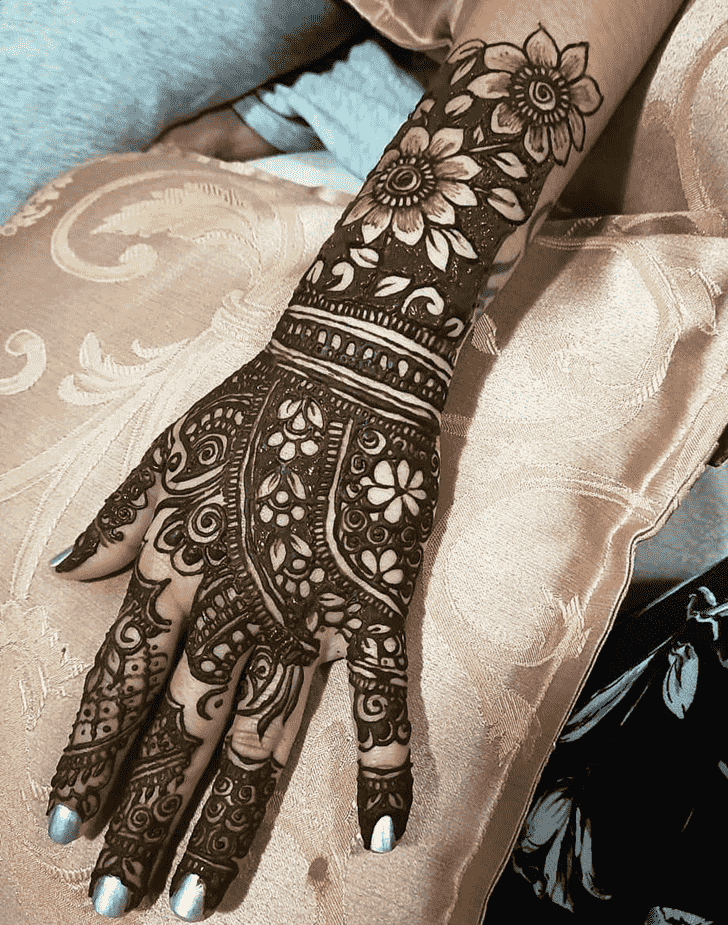 Captivating Jaipur Henna Design