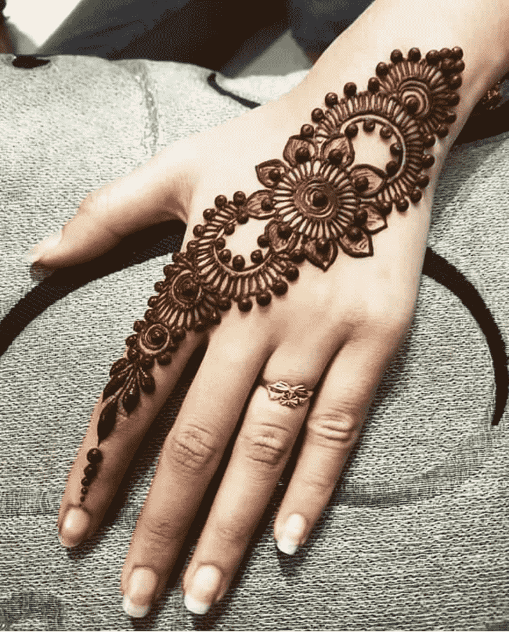Adorable Jalalabad Henna Design