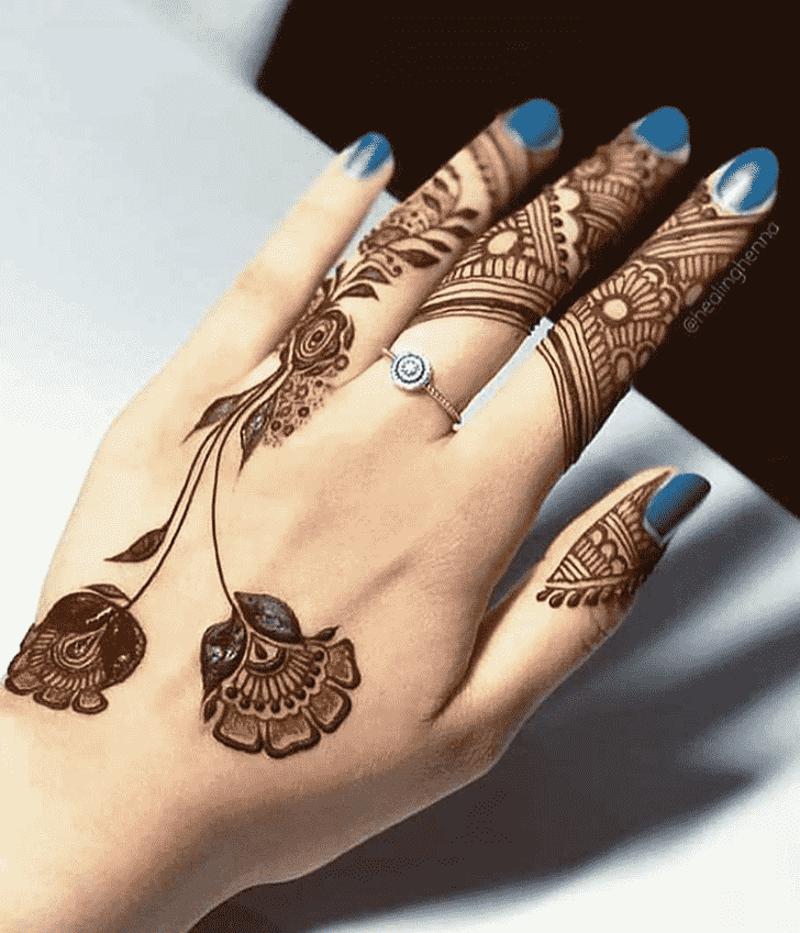 Beauteous Jalalabad Henna Design