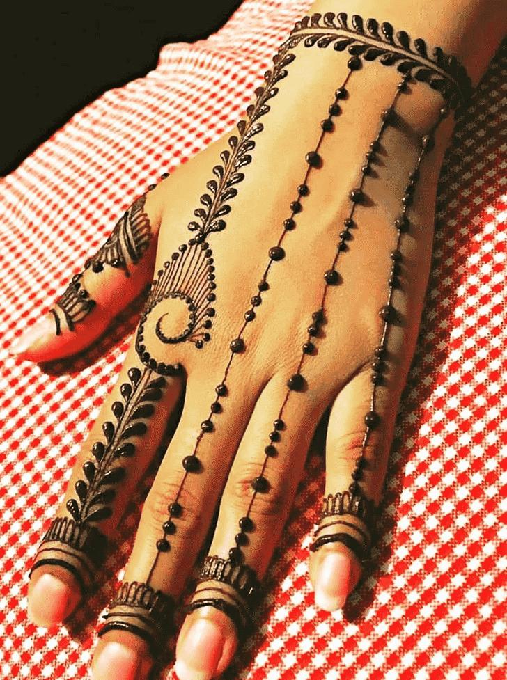 Captivating Jalalabad Henna Design