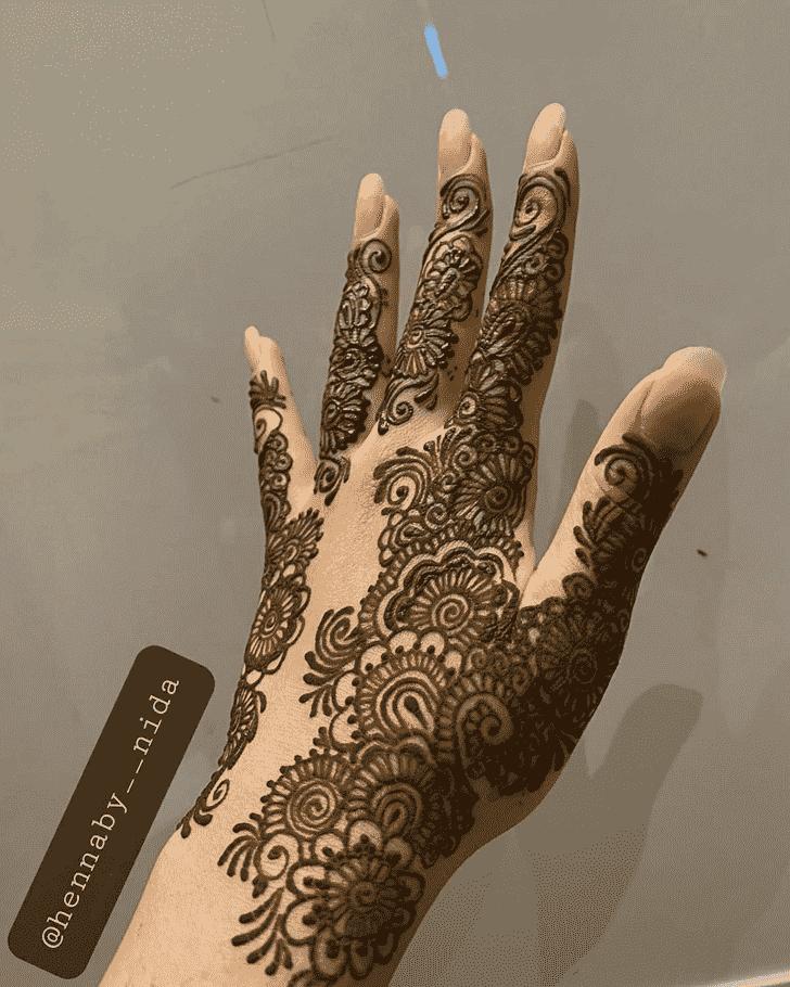 Alluring Jamshedpur Henna Design