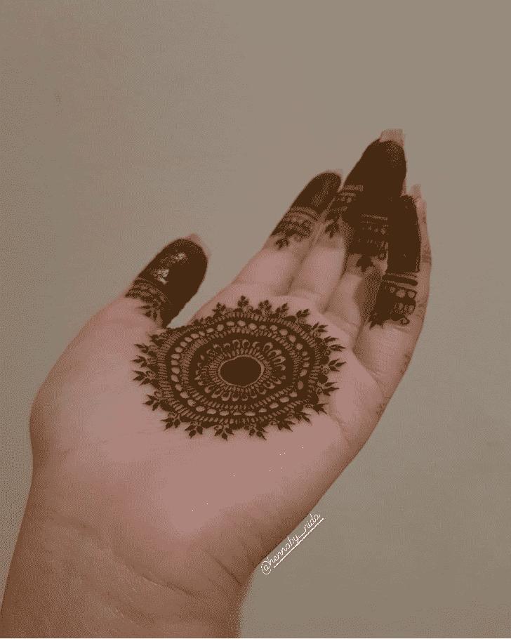 Captivating Jamshedpur Henna Design