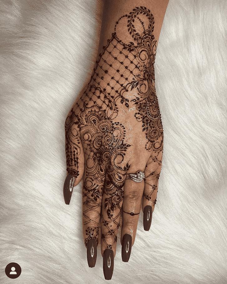 Charming Jamshedpur Henna Design