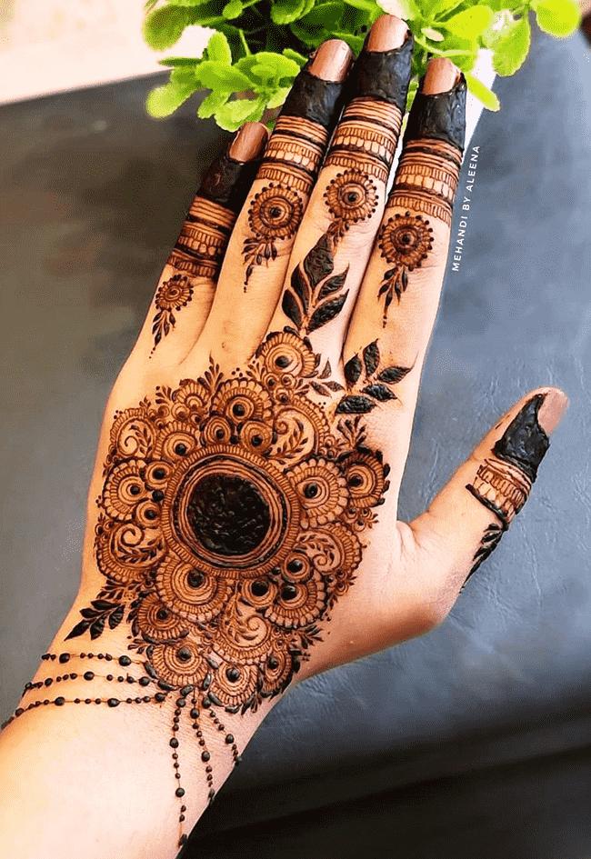 Beauteous Janakpur Henna Design