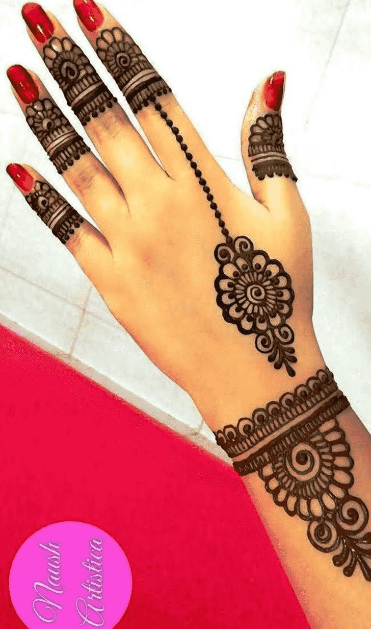 Angelic Jewellery Henna Design