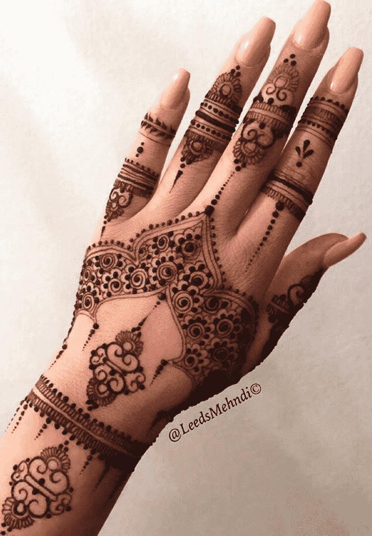 Appealing Jewellery Henna Design
