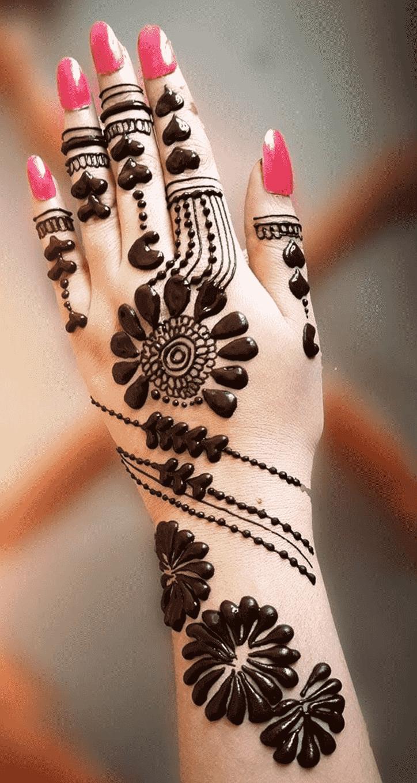 Bewitching Jewellery Henna Design