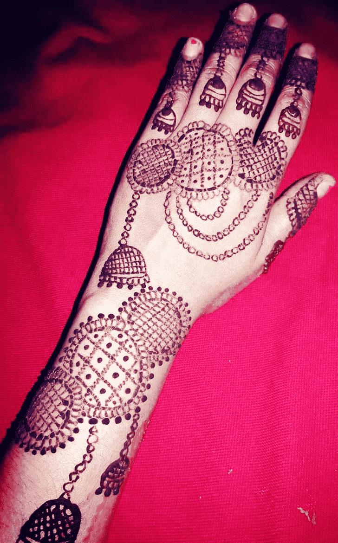 Classy Jewellery Henna Design